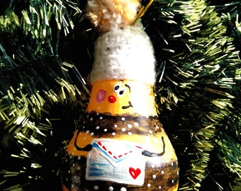 Bee with letter Christmas Decoration