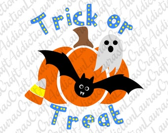 Trick or Treat svg. Trick or Treat bag, Halloween svg, Halloween Bag, Halloween treat bag, Treat bag, Halloween shirt, Trick or Treat shirt