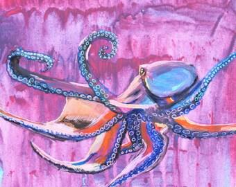 Trippy Octopus