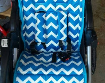 stroller liner with strap covers