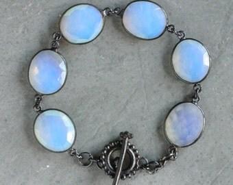 Opal Antique Bezel Bracelet