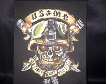 USMC Skull
