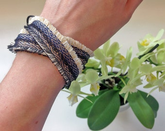 Wrap Bracelet, Hand made Bracelet, Gifts for her by Hanieh Fashion