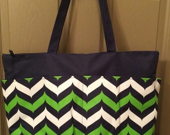 personalized large utility tote