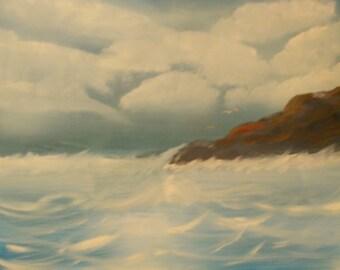 Ocean Waves 18x26