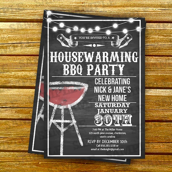 housewarming party invitations template by artpartyinvitation. Black Bedroom Furniture Sets. Home Design Ideas