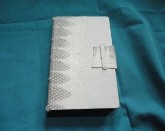 SALE - Snake Skin Handmade Full LeatherNotebook/ Journal/Sketchbook- Birthday-Valentine's-Mother's