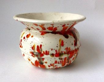1980 Handmade Ceramic Vase