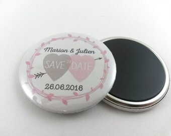 Invitations Save the date magnet 56mm