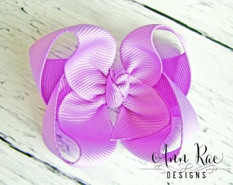 Orchid Boutique Hair Bow For Girls, Baby Hair Bow, Girls Hair Bow, Headband For Babies, Purple Hair Bow, Baby Headband, Hair Bow For Babies