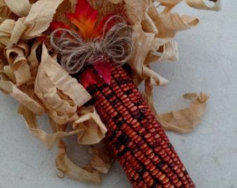 handmade indian corn craft