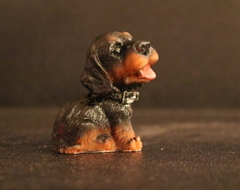 Mini Puppy Figurine #5 - 2""