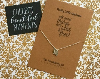 Pretty Little Necklace - All Good Things Are Wild And Free