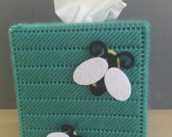 Bumblebee Tissue Box Cover