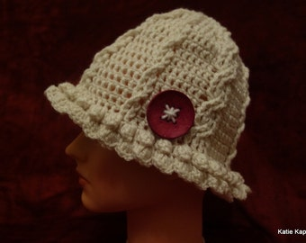 Cable and Twist cap, PATTERN ONLY