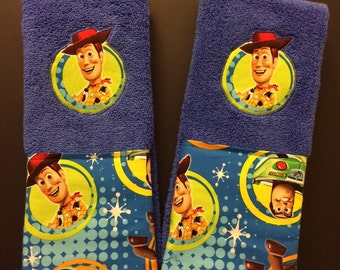 Toy Story Bath or Hand Towel Set