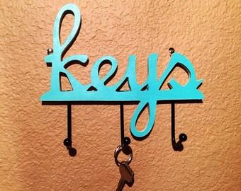 Key Holder, Key Hooks,Wall Key Holder, Choose Of Colors.