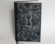 Handmade Polymer Clay Custom Lock Design Journal Diary Book (Made to ORDER)