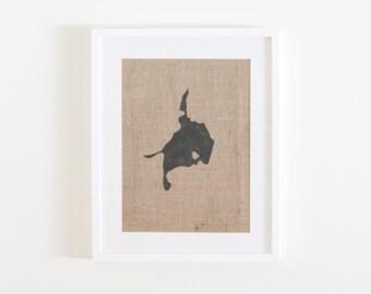 Framed Lake Simcoe Print