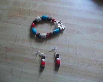 Lily Bracelet with Earrings