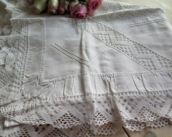 Vintage Lace Pillowcase