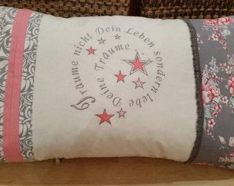 "Cushion ""dreaming your life"""