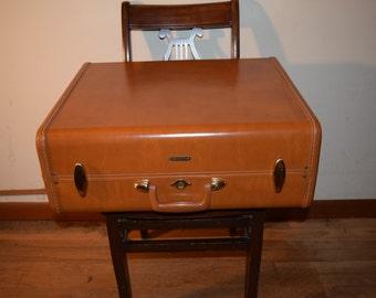 Vintage Samsonite Suitcase Luggage Travel Bag 1950's
