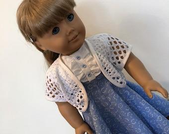 Beky's birthday dress fits American girl dolls