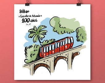 Funicular in Bilbao