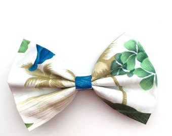 Hawaiian Palm Tropical Hair Bow