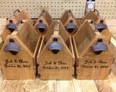 6-Pack Carrier. Custom-made Beer Holder. Bottle Holder. Groomsman Gift. Husband Gift. Dad Gift. Gift for Guys.