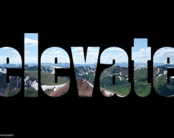 Elevate: inspiring wall art