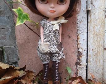 Lovely Animal Rompers for Blythe, Licca Dolls