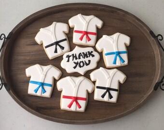 Karate cookies 1 dozen