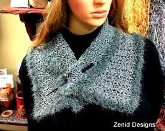 PATTERN -- Charcoal Cowl
