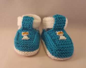 Knitted Baby booties with a cat, baby booties for boy. knitted sandals, Infant socks Baby Socks knit baby socks Baby Socks toddler socks boy