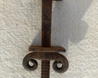 Vintage Hand Forged Iron Bolts