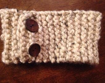 Knitted headband (adjustable)