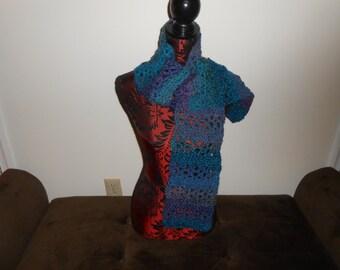 V- stitch  Scarf