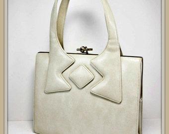 Vintage Leather Handbag, Vintage Leather Francois Handbag, Vintage Francois Handbag, Vintage Handbag,Vintage Mint Condition Francois Handbag