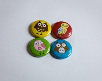 Cute Owl Magnets