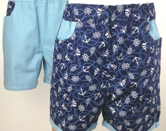 Reversible Yachtie Shorts