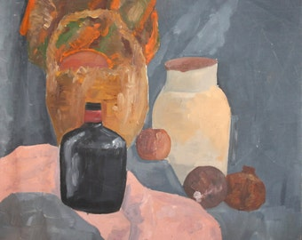 Still Life expressionist oil painting