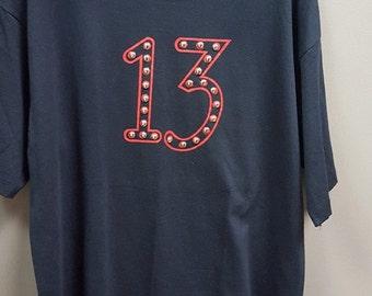 Archaic Smile Vintage Studded 13 T-Shirt