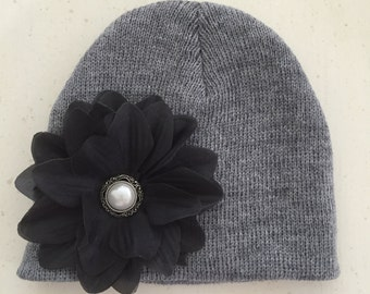 Hat- Charcoal Gray