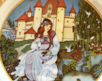 Grimm Fairy Tale Plates- Set of 4