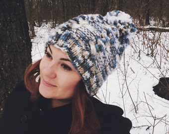 Very warm and soft hat will warm you in cold days.