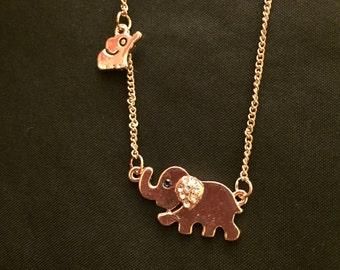 Cute Elephant neckalce