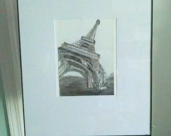 Eiffel Tower Print 16X20