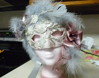 Mask for Mardi Gras or other parties ie: weddings,